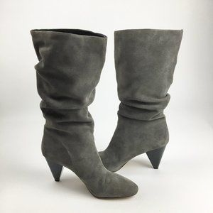 SOLE SOCIETY GERII SLOUCHY SUEDE BOOT *SZ 13 WOMEN